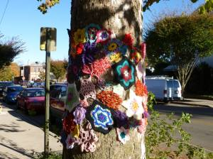 Yarn bombing - Johanna Smith