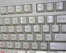 escape keyboard